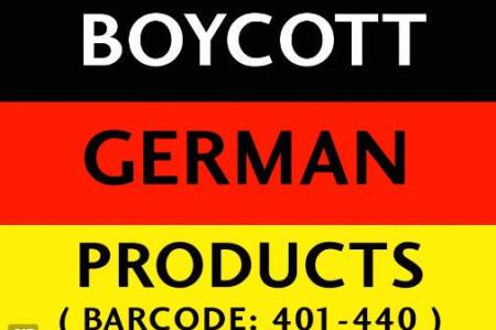 Niemcy nie wypłacą reparacji? Czas na bojkot niemieckich towarów i niemieckich kanałów dystrybucji.