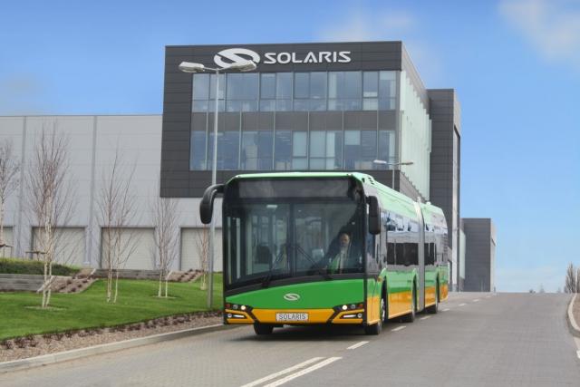 150 autobusów od Solarisa dla Wilna